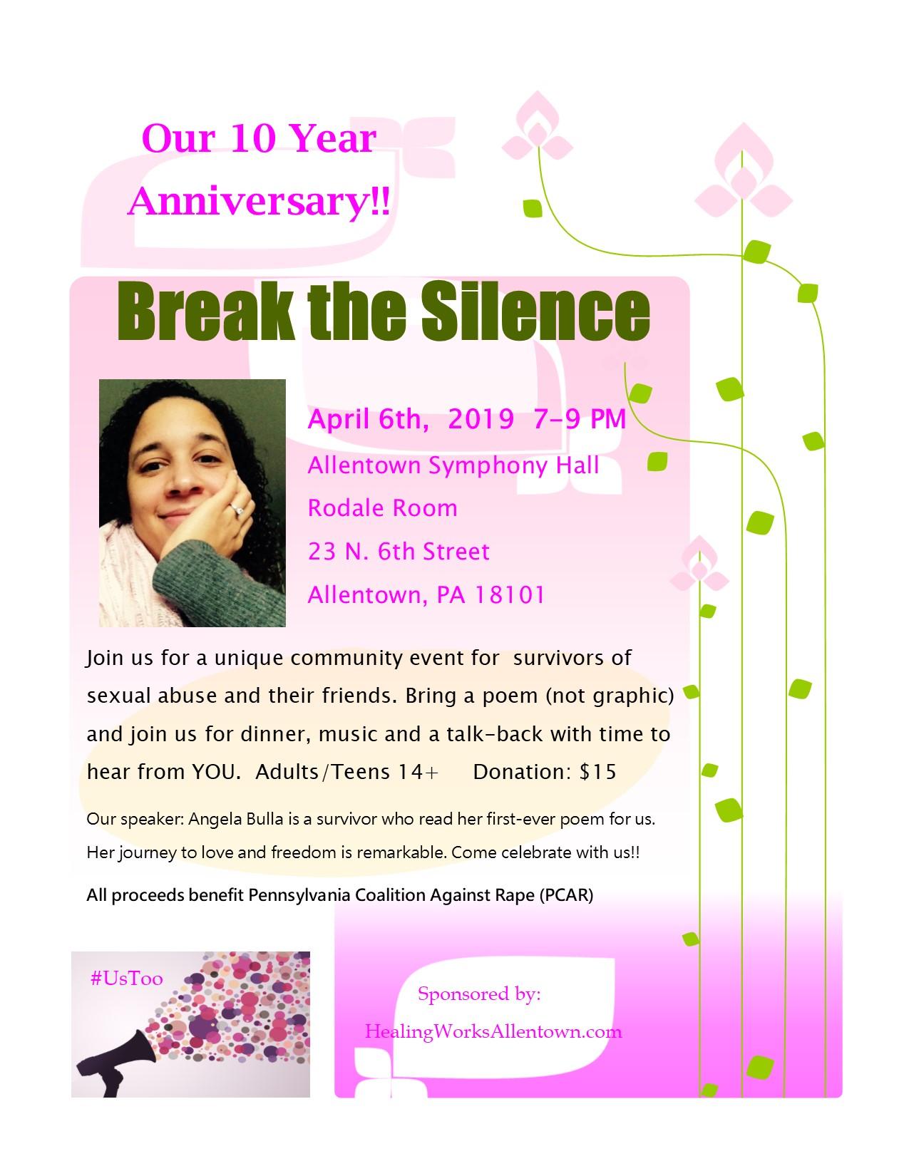 Break the Silence 2019